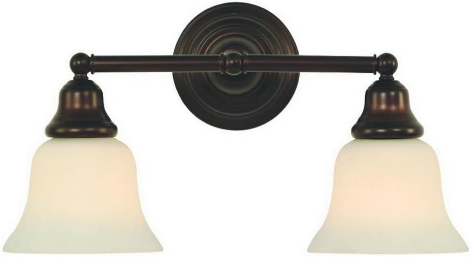 Dolan Designs 492-30 2Lt Bath Royal Bronze Brockport 2 Light Bathroom Fixture
