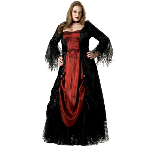 Women's Plus Size Vampire Costume - 3X for $<!--$80.80-->