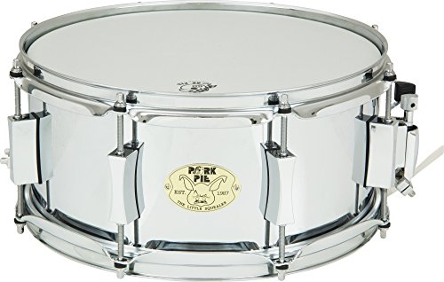 Pork Pie Little Squealer Steel Snare Drum 13 x 6 in. by Pork Pie (Image #3)