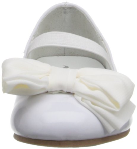 White Danica Toddler Flat T Little Nina Kid Ballet xOwFvAq0dq