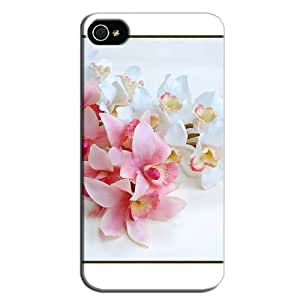 Fashion Design Protection For Iphone 4/4s Protective Hard Case White BdFb5dqjv