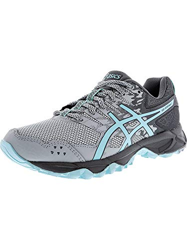 Asics Runners Gel (ASICS Women's Gel-Sonoma 3 Trail Runner, Mid Grey/Aqua Splash/Carbon, 10 D US)