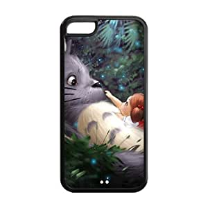 Diy iphone 5 5s case iPhone 5 5S Case, iPhone 5 5S cover Case, Anime My Neighbor Totoro TPU Fashion Case for iPhone 5 5S Cover Screen Protector