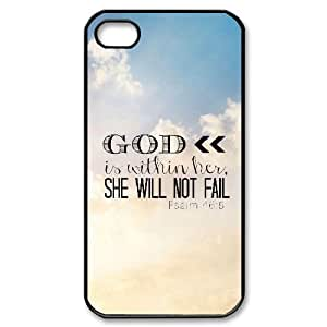 Bible Verse Brand New Cover Case for iPhone 6 plus 5.5diy case cover ygtg620 6 plus 5.533