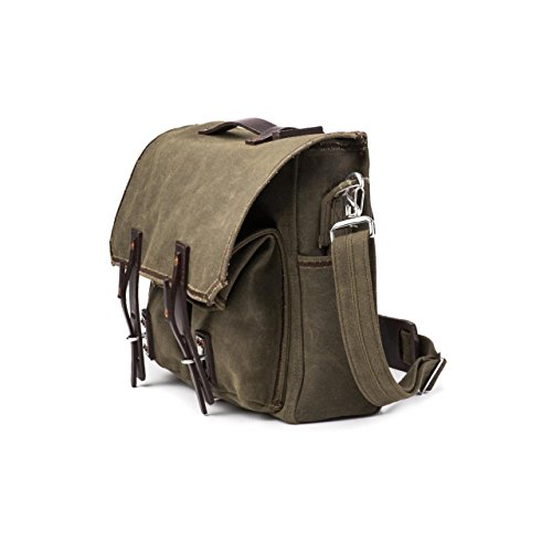 Saddleback Leather Canvas Front Pocket Gear Bag - Messenger Bag with 100 Year Warranty by Saddleback Leather Co. (Image #1)
