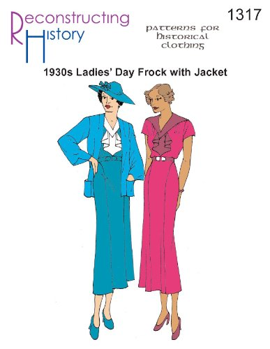 (1930s Day Dress and Jacket Pattern )
