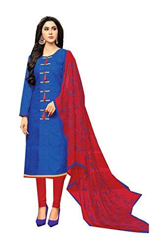 Da Facioun Indian Women Designer Partywear Ethnic Traditonal Anarkali Salwar Kameez. Da Facioun Femmes Indiennes Concepteur Partywear Ethnique Traditionelles Anarkali Salwar Kameez. Blue 10 Bleu 10