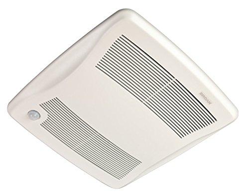 Broan ZB80M Ultra Series Multi-Speed Motion Sensing Ventilation Fan, 80 CFM, 6'' or 4'' by Broan