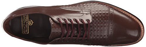 Stacy Adams Mens Madison Cap Toe Oxford Brown