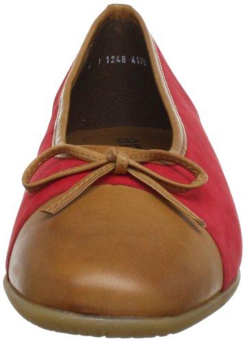 ara Bari-Sport - Bailarinas de cuero mujer marrón - Braun (saddle,rosso)