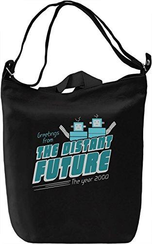 The Distant Future Borsa Giornaliera Canvas Canvas Day Bag| 100% Premium Cotton Canvas| DTG Printing|