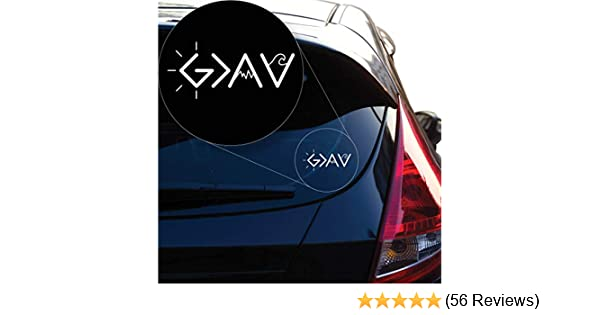 Laptop and More # 1241 # 1241 Yoonek Graphics God is Greater Than The Highs and lows Decal Sticker for Car Window Laptop and More 4 x 8.8 4 x 8.8, White