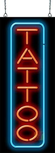 Tattoo Neon Sign - Vertical