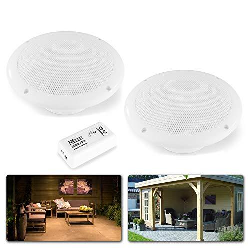 Power Dynamics BT10SET Plafond Bluetooth Speakerset voor Binnen en Buiten