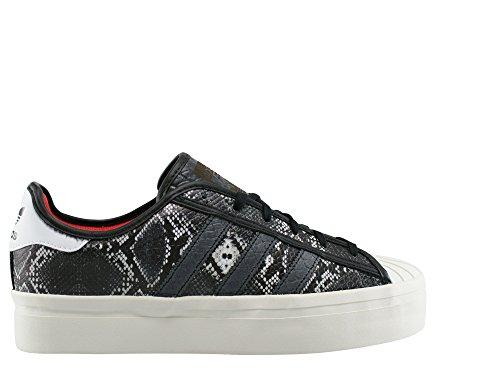 uk availability c5453 bb19d ... switzerland grigio nero adidas da donna superstar sneakers 4wa0qa6  27a60 c43c3
