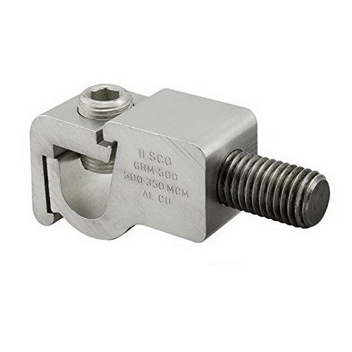 Grm Tin (Ilsco GRM-0 Mechanical Grounding Clamp 6061-T6 Aluminum Alloy Electro Tin-Plated)