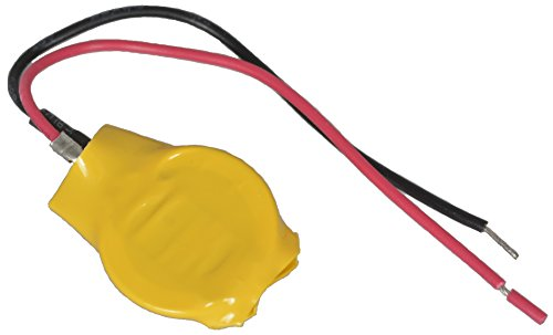 3V CR1220 Lithium Coin Cell Battery with Leads (3v Coin Cell Lithium Batteries With Leads)