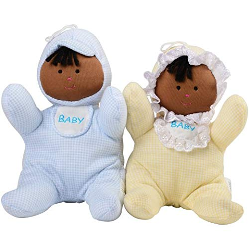 So-Soft Ethic Baby Dolls for Children- African American 13""