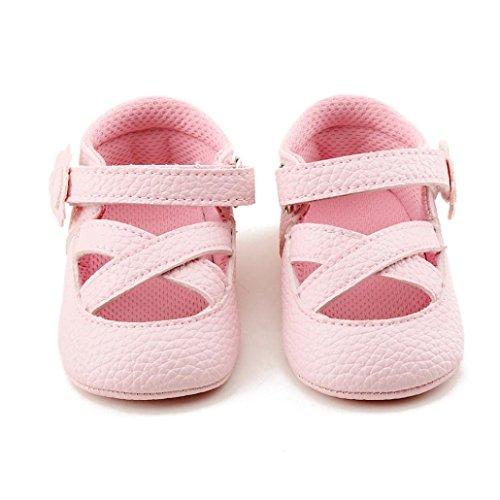 Hunpta Frühling weichen Sohle Baby Schuhe Mode Baby Mädchen Kinderschuhe Blumen Rosa