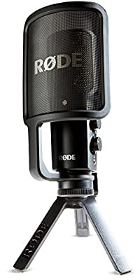 Rode Microphones NT-USB USB Condenser Microphone,