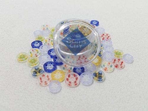 SAMSCITY-Colored-Honeycomb-screens-7-9mm-3-Pack-assorted-colors-FREE-JAR-