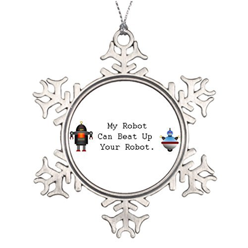 Leiacikl22 Unique Designed Christmas Trees Technology Christmas Snowflake Ornaments Robotics