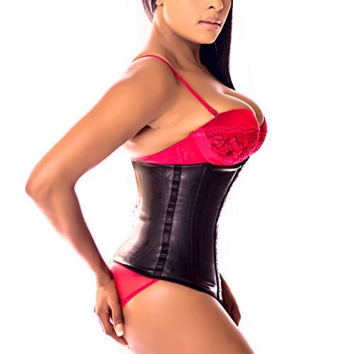 1885f5d2d05 Ann Darling Latex Sport Waist Trainer Cincher Trimmer Hourglass Corset For Weight  Loss Black