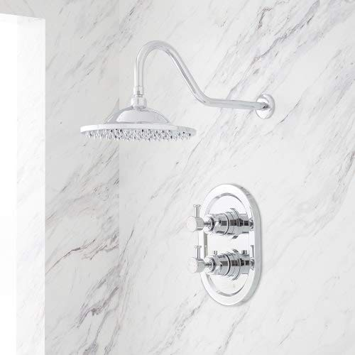 Signature Hardware 940602-8 Waterson Thermostatic Shower System with 8