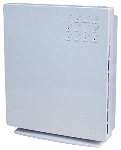 Surround Air XJ-3100A Intelli-Pro 3 Air Purifier, White by Surround Air
