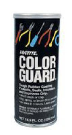 Loctite Color Guard Tough Rubber - Black Color Guard Tough Rubber Coating With Headphones