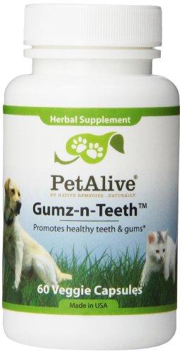 Gumz-n-dents petAlive pour les dents et des gencives saines pour animaux de compagnie (60 gél.)