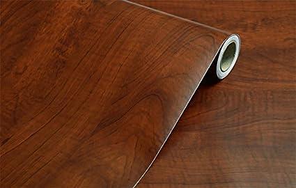amazon com rustic wood grain contact paper vinyl self adhesive