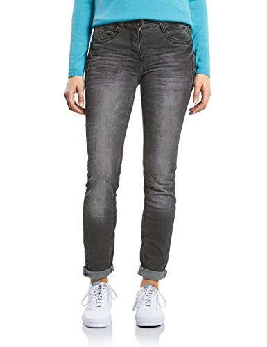 Used mid Grey Gris Jean Wash Cecil 10316 Droit Femme nUx1RYxq7