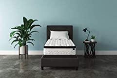 Why worry when you can chime? With the Sierra Sleep Chime innerspring twin mattress, you have endless possibilities for restful sleep. Feel the support of a truly traditional coil mattress which contours to your body for a comforting feel. Hi...