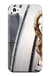 Hot Tpu Case Skin Protector For Iphone 4/4s Horse & Girl Wide With Nice Appearance 7215727K28325459