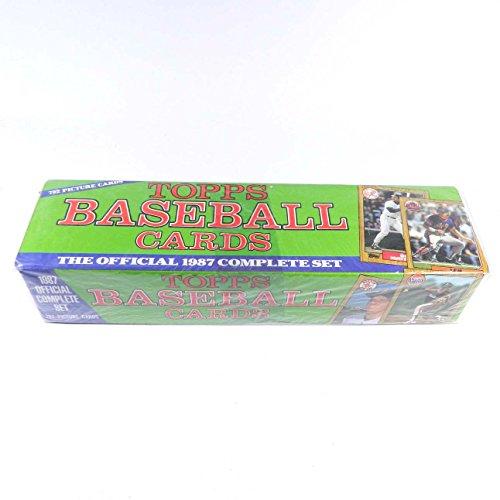 1987 Topps Baseball Cards Factory Set