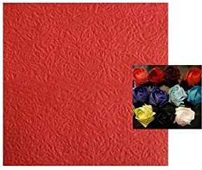 Amazon.com: 3D origami Paper Rose flower wall art gallery picture ... | 245x292