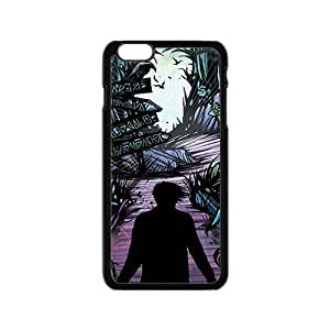 Black horrific man Cell Phone Case for Iphone 6