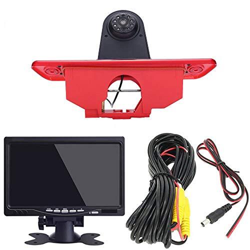 7 inch TFT LCD-scherm auto monitor + in 3e remlicht remlicht achteruitrijcamera transportster voor Peugeot Expert 2007…