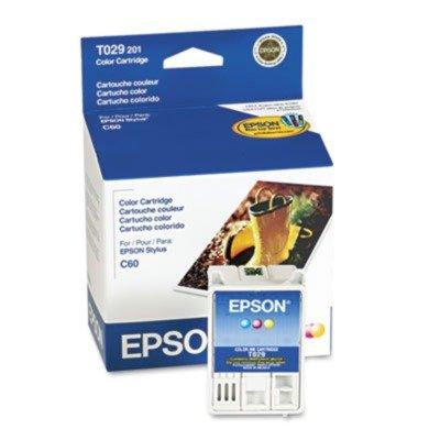 NEW EPSON OEM INKJET INK FOR STYLUS C60-1 STANDARD YIELD COLOR INK (Printing ()