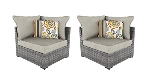 Cheap  Ashley Furniture Signature Design - Spring Dew Outdoor Corner Chair with Cushion..