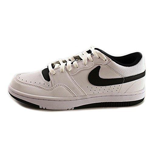 Nike Court Force Low Basketball Shoes, Men White / Black