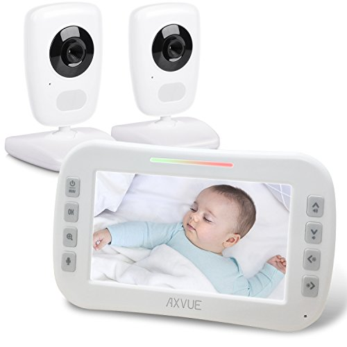 AXVUE E632 Video Baby Monitor with Night Vision and Night Light