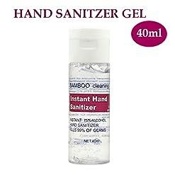 75% Alcohol Disposable Hand San-itizer Gel Pump, Kills 99.9% Germs, Anti-Bacteria
