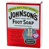 Johnson's Foot Soap 4 oz. by Johnson's