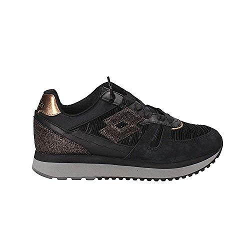 Bianco Tokyo Ginza 38 Lotto T7442 W Nero Nero Crack Sneakers x7CddTqYw