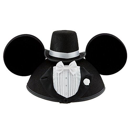 Disney Mickey Mouse Ear Hat - Groom]()