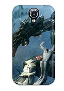 Awesome KxhFrYI2383SUpKH AMGake Defender Tpu Hard Case Cover For Galaxy S4- Crysis