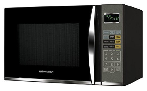 Review Emerson MWG9115SB, 1.2 Cu. Ft. 1100W Touch Control, Stainless Steel Microwave Oven with Grill...