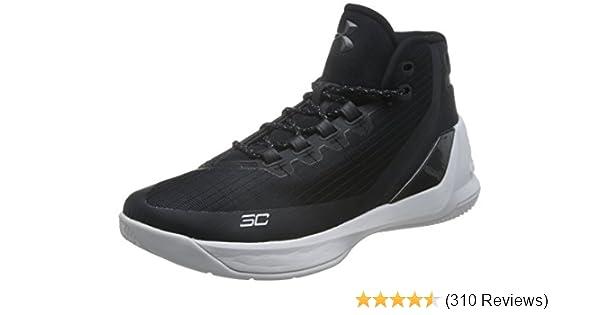 UNDER ARMOUR SC 3ZERO New Men/'s UA Stephen Curry Basketball Shoes Black White